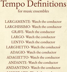 Get this Tempo Definitions poster for only $7 at http://www.tonedeafstore.com/collections/posters/products/tempo-definitions