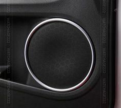 4pc-Fit-Para-Honda-Hr-v-vezel-Cromo-Puerta-Altavoz-estereo-cubierta-anillo-embellecedor-de-Molduras