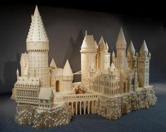 HogWarts Castle, Matchstick Marvels Museum, Gladbrooke, Iowa. Come and see the best matchstick models in the world! Acton has created dozens of wooden models and sculptures made exclusively of ordinary wooden matchsticks. He has used millions of matchsticks and gallons of glue to create models that are highly detailed and painstakingly scaled. Also at the Center, you will see drawings and plans for many of the models, plus tools and equipment used in construction.