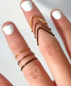 A Dude's Perspective: Mid-Finger Rings : Lucky Magazine
