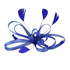 NUOLUX Wedding Bridal Feather Fascinator Hair Clip Brooch Pin Hair Accessory (Royal Blue) >>> You can get additional details at the image link.