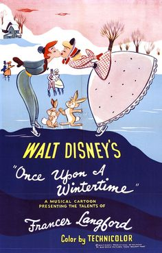 Once upon a wintertime, Vintage poster
