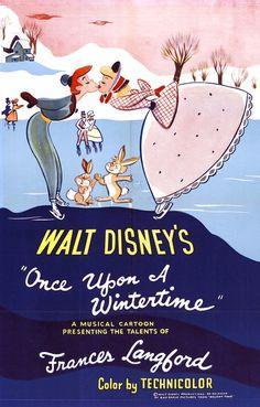 Walt Disney Animation. Winter.