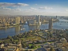 Cairo on the Nile.