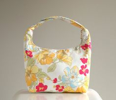 Insulated Lunch Bag Girls Lunch Bag Lunch Tote Women by LeLaStudio, $27.00