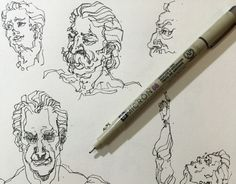 """Check out my @Behance project: """"Scribbling sketch""""…"""
