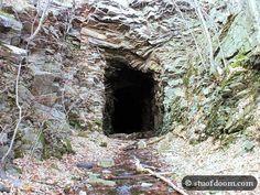Abandoned railroad tunnel  stuofdoom.com