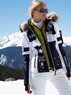 Luxury PR Group looks forward to Aspen Fashion Week!  Ski jacket  #Bogner