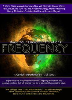 POWERFUL GUIDED MEDITATION FREQUENCY DEEP RELAXATION SOLFEGGIO BINAURAL BEATS PAUL SANTISI, via YouTube.