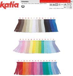 Katia panama colores a2.92 Puntos de Fantasía