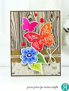 A Kept Life: RCSFYTT - Woodland Butterfly #card #cardmaking #stamp #stamping #papercrafting #reverseconfetti #butterfly