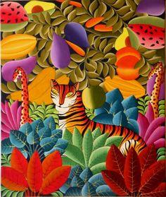 Carrie Art Gallery - Haitian Artist Emanuel http://www.carrieartgallery.com/emanuel-3003-sold/