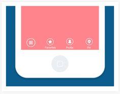 Mobile Interaction Design on App Design Served Ux Design Portfolio, Ui Ux Design, Design Agency, Android Ui, Ui Animation, Mobile Design, Creative Industries, Mobile Ui, Interactive Design