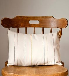 Rectangle Line Pillow Cover by A Little Brick House on Scoutmob Shoppe