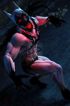 Batman/Anti-Venom by ~CodenameZeus on deviantART