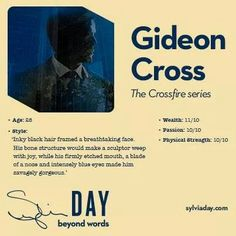 Gideon Cross - Crossfire Series - Sylvia Day