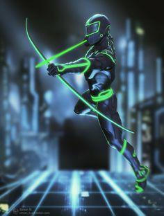 ArtStation - Sci-fi archer, Simon B