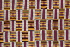 Woman's Cloth (detail), c. Asante culture, Akan peoples, Ghana Purchased with funds contributed by donors to the Costume and Textiles Revolving Fund,