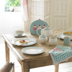 Lucille Teal Table Setting - Monsoon by Denby & Monsoon Lucille Silver by Denby | Make a Home | Pinterest | John ...
