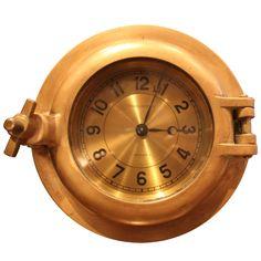 Hermes Porthole Clock