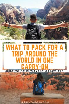What to Pack for a Trip Around the World in One Carry-On