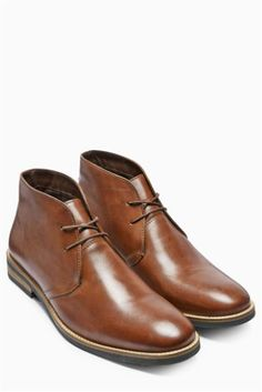 8fc86523ca72 Buy Leather Chukka Boot online today at Next  United States of America.  Adam Miller · Shoes