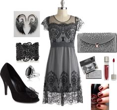 """Evening Out."" by kllformeller on Polyvore"