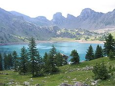 Lac d'Allos, southern alps