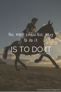 What have you been putting off doing? Just do it!!