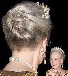 Kongelige frisurer - dronning Margrethe