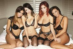 Holly, Danielle, Vixen, Joey