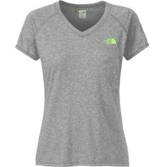 The North Face Women's Reaxion Amp V-Neck T-Shirt - Plus-Size - Dick's Sporting Goods