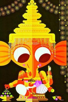 Ganesha (by Sanjay Patel) love the little book of Hindu deities! Indiana, Krishna Wallpaper, Cartoon Sketches, Krishna Art, Hindu Deities, Lord Ganesha, Hindu Art, Indian Gods, Gods And Goddesses
