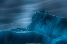 Antarctic Ice by midnight by Jørn Allan Pedersen