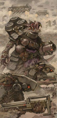 Dreaming Of Star Skaven Made Art : Warhammer