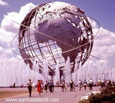World's Fair icons: Unisphere, 1964 New York