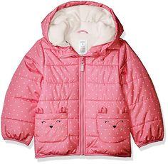New Girls Toddler Gap Blue Rose Gold Star Longline Puffer Jacket Coat 2t 3t 4t