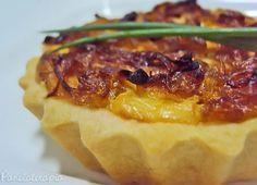 PANELATERAPIA - Blog de Culinária, Gastronomia e Receitas: Mini Quiche de Cebola