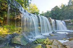 Keila-Joa waterfall, Estonia. (visited 2013)