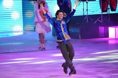 Lovely in Kazakh costume.. at Denis Ten Show 2014