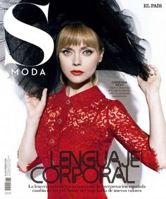 Christina Ricci Stuns in All Red Styles for S Moda Cover Story