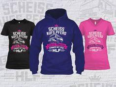 """Feuerwehr Hoodie / Kapuzenpullover und T-Shirts """"Scheiss aufs Pferd. Echte Prinzen kommen mit dem HLF""""  #FFW #FW #Feuerwehr #Freiwillige #ehrenamt #FWLeitstelle #feuerwehrleute #feuerwehrmann #feuerwehrfrau #hlf #löschfahrzeug #feuerwehrauto #hoodie #pullover #tshirt"""