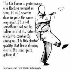 """66 Likes, 3 Comments - Tai Chi Chuan Five Winds (@five_winds) on Instagram: """"As Tai Chi is a principle the quotes will work if you replace TC with whatever you practice.  Ian…"""""""
