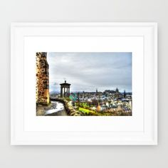 Buy Edinburgh Framed Art Print by haroulita!!. Worldwide shipping available at Society6.com. Just one of millions of high quality products available.