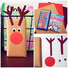 Creatief inpakken voor Kerst: Rudolph!