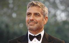 La barbe grisonnante de George Clooney