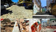 Pregopontocom Tudo: Ruas da Mouraria em Salvador são recuperadas e ganham acessibilidade...