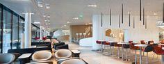 Air France Business Lounge by Brandimage, Paris » Retail Design Blog