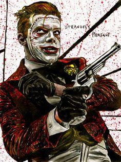 Cameron Jerome, Gotham Tv Series, Der Joker, Design Comics, Jerome Valeska, Joker And Harley, Jokers, The Fosters, Ivy