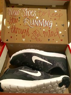 Diy boyfriend gift my boyfriend and i are coming up on our one valentines day shoe gift for him nikes negle Images